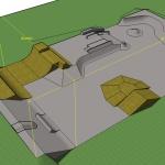 1.Entwurf Skateparkneubau Lennie Burmeister