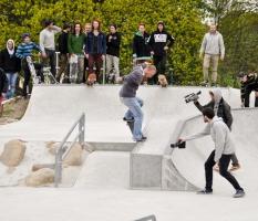 Skateparkopening