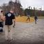 Skateboard Schnupperkurs im Rahmen einen Jugendprojekts an der Jugendherberge in Prora