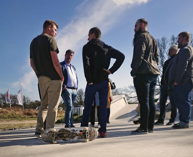 Schwedische Gemeinde informiert sich über Vereinsleben