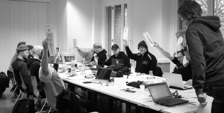 Skateboardkommission Sitzung 17. November 2019 in Berlin