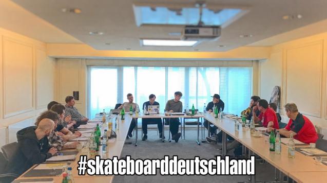 Sportkommission Skateboard