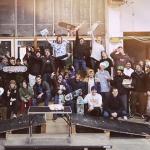 X-Mas Jam in der Skatehalle Stralsund
